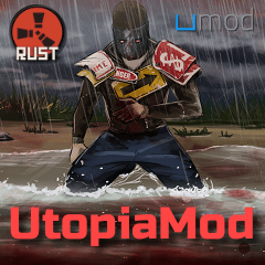 UtopiaMod Rust Server (ресурсы 2x, стак 5k)